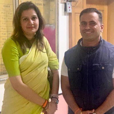 Member of Parliament Priyanka Chaturvedi