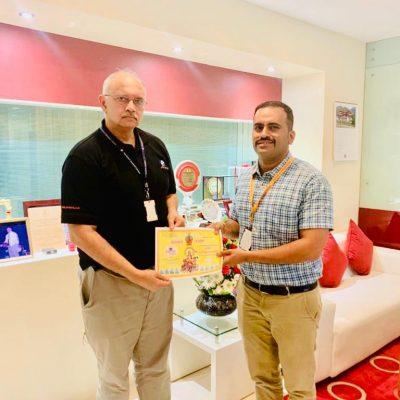 Owner of Persistent Systems Pvt ltd- Shri. Anand Deshpande
