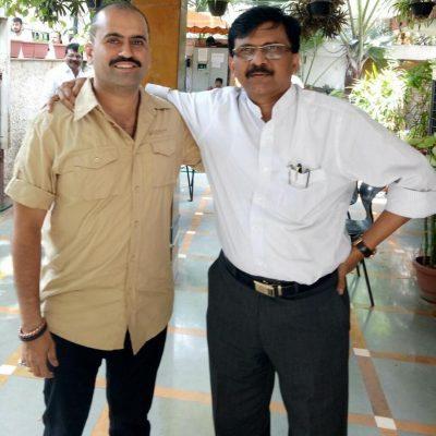 Member of the Parliament Shri. Sanjay Raut